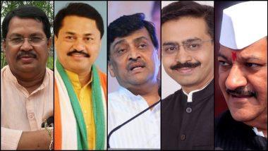Maharashtra Congress State President: महाराष्ट्र काँग्रेस प्रदेशाध्यक्ष पदासाठी जोरदार स्पर्धा, अशोक चव्हाण, राजीव सातव, नाना पटोले, विजय वडेट्टीवार यांची नावे चर्चेत