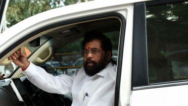 Eknath Shinde: नगरविकास मंत्री एकनाथ शिंदे यांच्या वाहनाला अपघात; अंगठ्याला दुखापत झाल्याची माहिती समोर