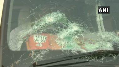 BJP National President JP Nadda यांच्या ताफ्यावर दगडफेक; सारे सुरक्षित असल्याची पश्चिम बंगाल पोलिसांची माहिती