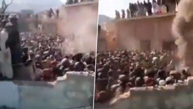 Mob Demolishes Hindu Temple in Pakistan: पाकिस्तानमध्ये ऐतिहासिक मंदिरावर हल्ला, 14 जणांना अटक; खैबर पख्तूनख्वाह प्रांतातील घटना