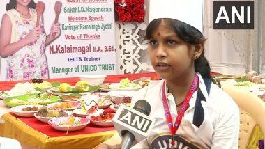 UNICO Book of World Records: तमिळनाडूच्या SN Lakshmi Sai Sri चा नवा विक्रम; 58 मिनिटांमध्ये बनवले 46 पदार्थ (See Photo)
