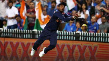 IND vs AUS 3rd T20I: सुपरमॅनसारखं हवेत उडून संजू सॅमसनने केले चकित करणारे क्षेत्ररक्षण, पाहून तुम्हीही व्हाल थक्क