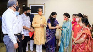 Urmila Matondkar Joins Shiv Sena: अभिनेत्री उर्मिला मातोंडकर यांंचा 'मातोश्री' वर शिवसेना पक्षामध्ये प्रवेश