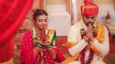 Actor Karan Bendre Wedding Photos: अभिनेता करण बेंद्रे अडकला लग्नबंधनात; पहा त्याच्या लग्न सोहळ्याचे फोटोज