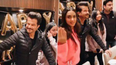 Anil Kapoor Birthday: 'जुग जुग जिओ' चित्रपटाच्या सेटवर साजरा करण्यात आला अभिनेता अनिल कपूर यांचा वाढदिवस; पहा Inside Video