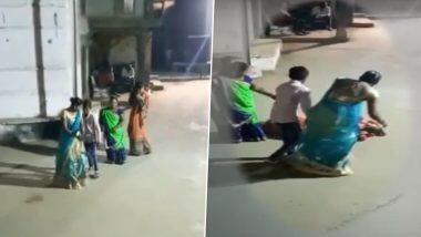 Gujarat: धक्कादायक! लग्नात गरबा खेळताना अचानक कोसळली; महिलेचा अवघ्या 17 सेकंदात हृदयविकाराच्या झटक्याने मृत्यू (Watch Video)