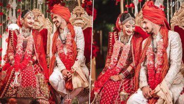 Yuzvendra Chahal-Dhanashree Verma Wedding: स्टार गोलंदाज युजवेंद्र चहल अडकला विवाहबंधनात; धनश्री वर्माशी बांधली लग्नगाठ (See Photo)