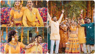 Yuzvendra Chahal-Dhanashree Verma's Haldi Pictures: युजवेंद्र चहल आणि धनश्री वर्माच्या हळद सेरेमनीचे फोटो पाहून तुमच्याही चेहऱ्यावर हसू फुलेल, पाहा हे खास Photos