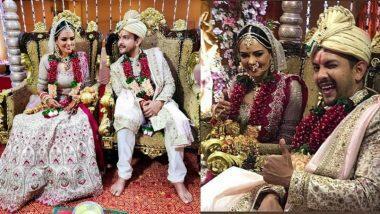 Aditya Narayan-Shweta Agarwal's Wedding Photos: आदित्य नारायण आणि श्वेता अग्रवाल यांच्या विवाहसोहळ्यातील खास फोटोज!