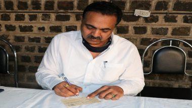 Mahaparinirvan Din 2020 निमित्त जयंत पाटील यांचं पत्र लिहून डॉ. बाबासाहेब आंबेडकर यांना अनोखं अभिवादन