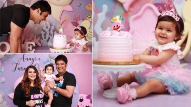 Kapil Sharma ची मुलगी Anayra च्या पहिल्या वाढदिवसाचे फोटो आले समोर, चिमुकलीच्या निरागस हावभावांनी चाहते झाले घायाळ, See Pics