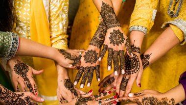 Latest Wedding Mehndi Designs Pics and Videos: ट्रेडिशनल इंडियन ब्राइडल मेहंदी पासून सोप्या अरेबिक मेंहदी पर्यंत लग्नसराईत ट्राय करा 'या' सुंदर मेहंदी डिझाईन ( Watch Photo & Video )