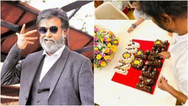 Rajinikanth's 70th Birthday Cake: Now or Never! रजनीकांत यांच्या 70 व्या वाढदिवसाच्या केकवर दिसली त्यांची राजकारणातील प्रवेशाची झलक (See Photo)