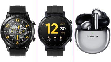 Realme Watch S, Watch S Pro आणि Buds Air Pro लॉन्च; जाणून घ्या किंमत, फिचर्स आणि स्पेसिफिकेशन्स