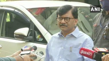 Sanjay Raut On Yogi Adityanath: मुंबईतील फिल्मसिटी दुसरीकडे हलवणं सोप्प नाही; संजय राऊत यांचा योगी आदित्यनाथ यांना टोला
