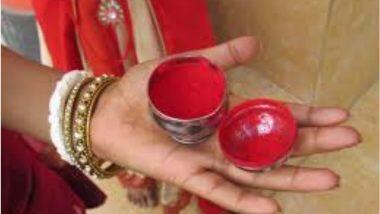 धक्कादायक! पतीने सुरतला घेऊन जाण्यास नकार दिल्याने विवाहितेची कुंकू खाऊन आत्महत्या;Uttar Pradesh मधील घटना