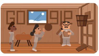जेम्स नाइस्मिथ Google Doodle: बास्केटबॉल खेळाचे जनक James Naismith यांच्या स्मणार्थ खास अॅनिमेटेड डूडल द्वारा गूगलची आदरांजली!