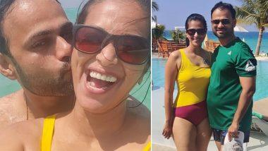 Sharmishta Raut-Tejas Desai Honeymoon: बॉलिवूड कपल्सपाठोपाठ मराठी अभिनेत्री शर्मिष्ठा राऊतने आपल्या हनिमूनसाठी मालदिव्सला दिली पसंती, See Pics