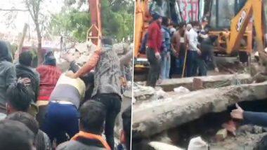 गाजियाबाद: अंत्यसंस्कारासाठी गेलेल्यांवर काळाचा घाला, स्मशानभूमीचे छत कोसळून 17 जण ठार