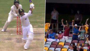 IND vs AUS 4th Test Day 3: मयंक अग्रवालने नॅथन लायनच्याचेंडूवर लागवलेला गगनचुंबी षटकार पाहून अचंबित व्हाल, पहा व्हायरल Video