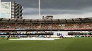IND vs AUS 4th Test 2021: ब्रिस्बेनमध्ये मुसळधार पावसाला सुरुवात, दुसऱ्या सत्रानंतरचा खेळ थांबला, पहा व्हिडिओ