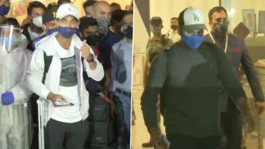 ऑस्ट्रेलियामध्ये ऐतिहासिक विजयानंतर Team India मायदेशी परतली; अजिंक्य रहाणे, रवि शास्त्री, पृथ्वी शॉ यांचं मुंबई एअरपोर्टवर जंगी स्वागत, पहा Photos