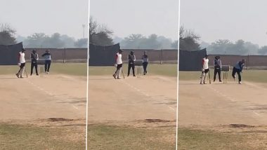 Watch Video: या क्रिकेटरची भरतनाट्यम स्टाईल ऑफ स्पिन गोलंदाजी पाहून तुम्हीही पाहून चक्रावून जाल!