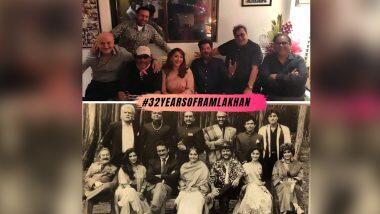 32 Years of Ram Lakhan: 'राम लखन' चित्रपटातील कलाकार 32 वर्षांनतर आता कसे दिसतात? माधुरी दीक्षितने शेअर केला फोटो