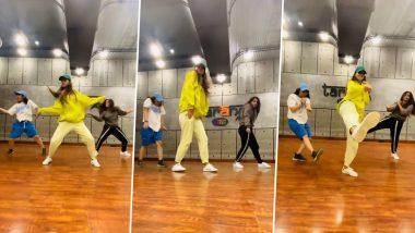 Disha Patani चा जबरदस्त डान्स व्हिडिओ व्हायरल; पहा व्हिडिओ
