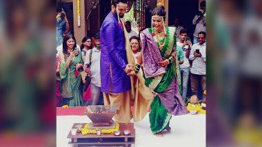 Siddharth Chandekar Mitali Mayekar Wedding: सिद्धार्थ चांदेकर-मिताली मयेकर विवाहबद्ध; पहा खास क्षणांचे सुंदर Photos