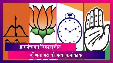 Maharashtra Gram Panchayat Elections Results 2021: ग्रामपंचायत निवडणूकीत महाविकास आघाडी अव्वल; भाजपचे जास्त उमेदवार विजयी