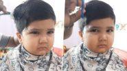 Anushrut Haircut Viral Video:केस कापताना चिडणार्या नागपूरच्या अनुश्रूत चा नवा मजेशीर व्हिडिओ देखील वायरल (Watch Video)