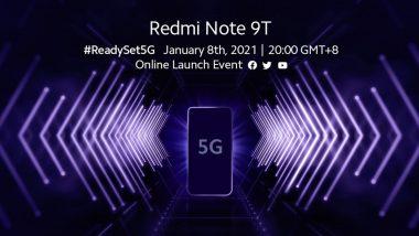 Xiaomi चा नवा स्मार्टफोन Redmi Note 9T 5G ची लाँचिंग डेट आली समोर, 'ही' असू शकतात या मोबाईलची खास वैशिष्ट्ये