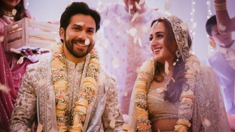 Varun Dhawan-Natasha Dalal Wedding: वरुण धवन-नताशा दलाल यांचे मोठ्या थाटामाटात झाले 'शुभमंगल सावधान', See Pics