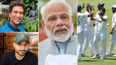 Team India च्या Australia मध्ये टेस्ट सीरीजमधील ऐतिहासिक कामगिरीनंतर PM Narendra Modi  ते Sachin Tendulkar यांच्याकडून कौतुकाचा वर्षाव