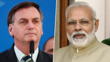 Covid-19 Vaccine पुरवल्याबद्दल हनुमानाचा फोटो ट्विट करत ब्राझीलचे राष्ट्राध्यक्ष Jair Bolsonaro यांनी मानले भारताचे आभार; पंतप्रधान मोदींनी दिले 'हे' उत्तर