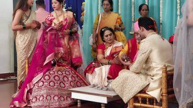 Mansi Naik Wedding: अभिनेत्री मानसी नाईक अडकली विवाहबंधनात; दीपाली सय्यद, रेशम टिपणीस ची लग्नाला उपस्थिती (View Pics)