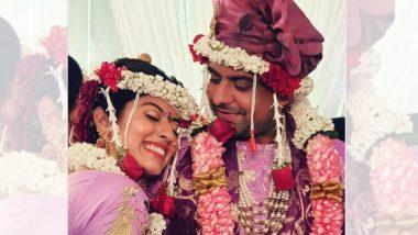 Abhidnya Bhave Ties Knot Mehul Pai: अभिज्ञा भावे हिने मेहुल पै सोबत बांधली लग्नगाठ, पहा फोटो आणि व्हिडिओ
