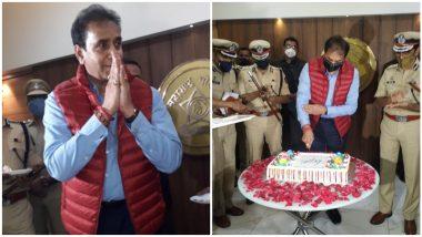 Anil Deshmukh Celebrate New Year 2021 in Pune: गृहमंत्री अनिल देशमुख यांनी पोलीस नियंत्रण कक्षातून साजरा केला Thirty First