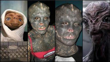 Body Transformation: ही कसली फॅंटसी? बॉडी ट्रान्सफॉर्मेशन करुन झाला 'Black alien'; संपूर्ण अंगावर गोंदवले टॅटू (पाहा फोटो)
