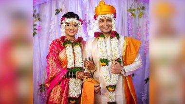 Ashutosh Kulkarni-Ruchika Patil Wedding: 'असंभव' मालिकेतून घराघरात पोहोचलेला आशुतोष कुलकर्णी याचे अभिनेत्री रुचिका पाटील सह झाले 'शुभमंगल सावधान', See Pics