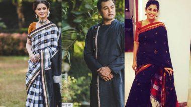 Black Saree, Dress Ideas For Makar Sankranti 2021: मकर संक्रांती ला पारंपारिक अंदाजात नटण्यासाठी काळ्या रंगातील साड्या, ड्रेससाठी खण, इरकल ते पैठणी पर्याय!