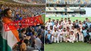 Fact Check: ऑस्ट्रेलिया विरुद्ध ऐतिहासिक विजयानंतर भारतीय प्रेक्षक गाबा मैदानातच गाऊ लागले 'वंदे मातरम'? व्हायरल व्हिडिओमागील सत्य आले समोर