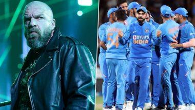 Triple H याच्या WWE सुपरस्टार्स संघ आणि टीम इंडिया यांच्यात होऊ शकतो क्रिकेट सामना, पहा काय म्हणाला रेसलिंग रिंगचा स्टार