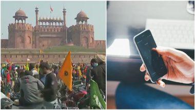 Internet Services Snapped in Delhi-NCR: राजधानी दिल्ली-एनसीआर परिसरात काही भागांमध्ये इंटरनेट सेवा बंद