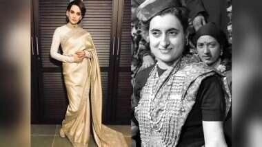 Kangana Ranaut To Play Indira Gandhi: तामिळनाडूच्या मुख्यमंत्र्यांनंतर कंगना रनौत बनणार देशाची पहिला महिला पंतप्रधान; मोठ्या पडद्यावर साकारणार इंदिरा गांधींची भूमिका