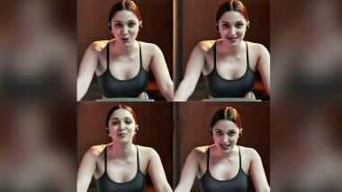 Kiara Advani Hot Video: कियारा आडवाणी हिचा जिममध्ये हॉट वर्कआउट; सेक्सी व्हिडिओ पाहून चाहतेही झाले घायाळ