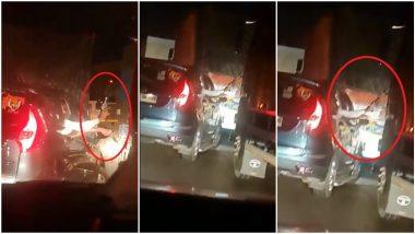 Mumbai - Pune Expressway Viral  Video:  मुंबई-पुणे एक्सप्रेस-वेवर थरार, बंदूक दाखवून ओव्हरटेक, गुन्हा दाखल;  व्हिडिओ व्हायरल