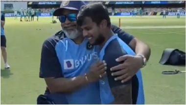 IND vs AUS 4th Test 2021: ब्रिस्बेन टेस्ट सामन्यातटी नटराजनचे ऐतिहासिक डेब्यू, असा पराक्रम करणारा बनलापहिला भारतीय