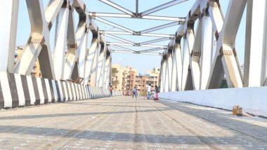 कल्याण च्या पत्री पूलचंं मुख्यमंत्री उद्धव ठाकरे यांच्या हस्ते लोकार्पण; नागरिकांची वाहतूक कोंडीतून होणार सुटका